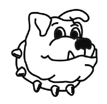 Ga bull dogs colouring pages for Free printable bulldog coloring page